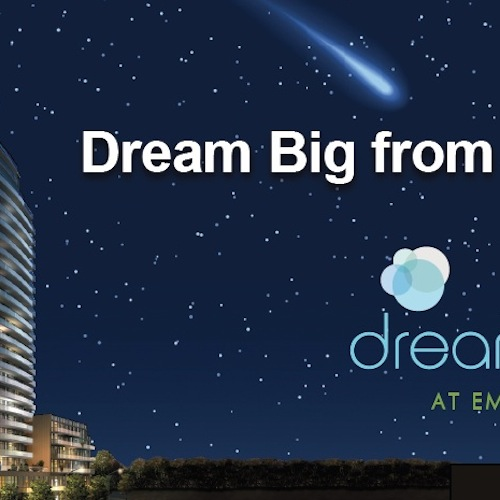 "Dream Tower at Emerald City – ""Dream Big"""