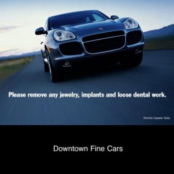 Porsche – Downtown Fine Cars Point of Sale Posters