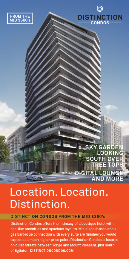 orange bazooka portfolio distinction condos direct marketing image
