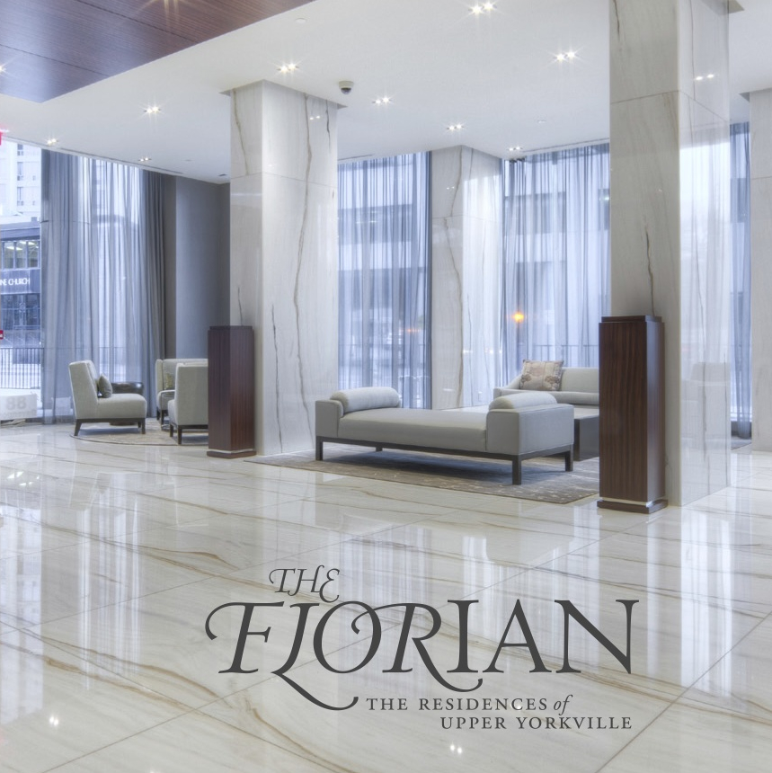 The Florian Brochure and Signage